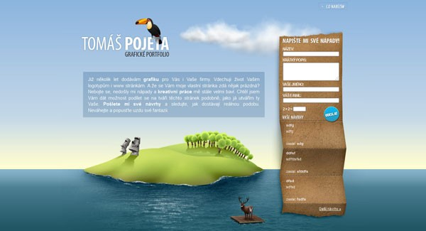 Websites with Parallax Scrolling-pojeta