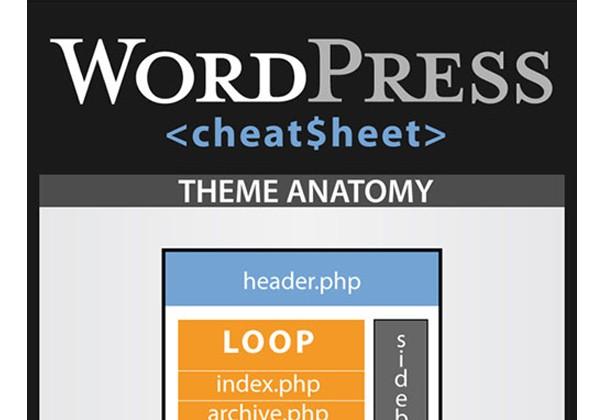 WordPress Infographics-cheatsheetinfographic