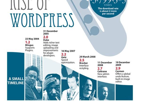WordPress Infographics-riseofwordpress