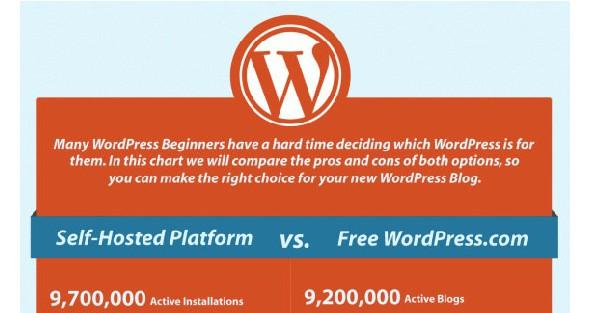 WordPress Infographics-selfhostedvswordpress