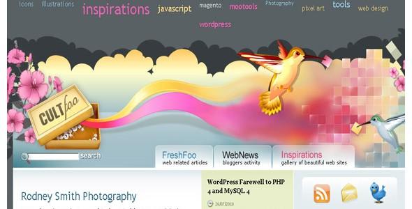 creative website headers-cultfoo