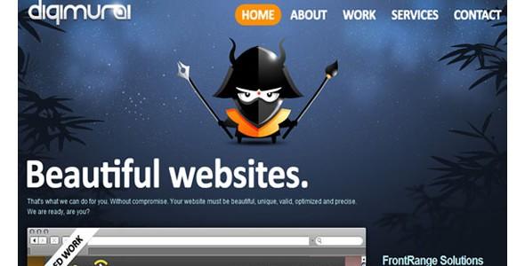 creative website headers-digimurai