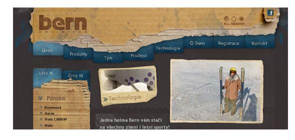 creative website headers-helmybern