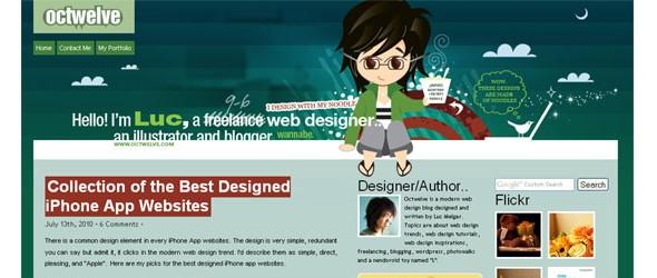 creative website headers-octwelve