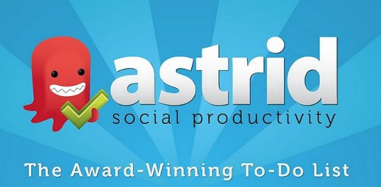 Free Android Productivity Apps of 2012-astridtodo