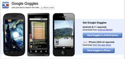 Free Android Productivity Apps of 2012-googlegoogles