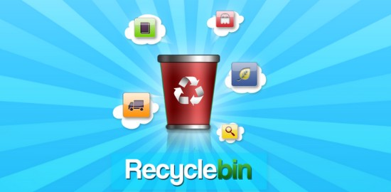 Free Android Productivity Apps of 2012-recyclebin
