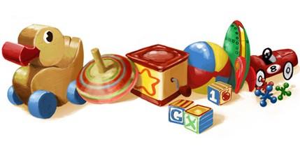 Google Doodles of 2011-thomas childrensday