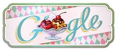 Google Doodles of 2011-thomas icecreamsundae