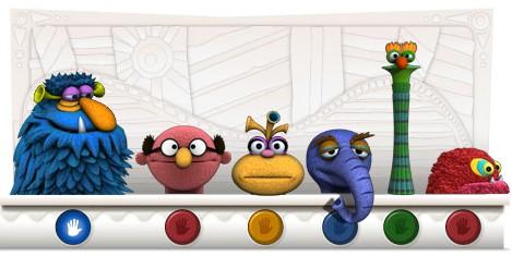 Google Doodles of 2011-thomas jimhenson
