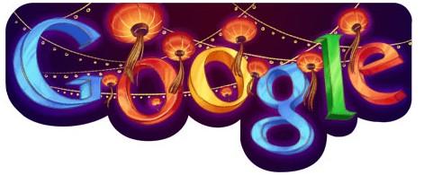 Google Doodles of 2011-thomas lanternfestival