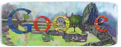 Google Doodles of 2011-thomas macchupicchu