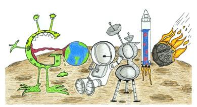 Google Doodles of 2011-thomas matteolopez