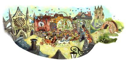 Google Doodles of 2011-thomas royalwedding