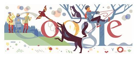 Google Doodles of 2011-thomas sergeyprokofiev