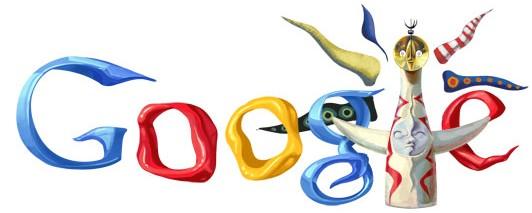 Google Doodles of 2011-thomas tarookamoto