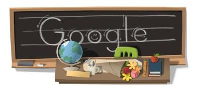 Google Doodles of 2011-thomas teachersday