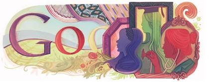 Google Doodles of 2011-thomas women