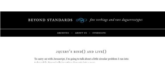 Light & Clean Websites-beyondstandards