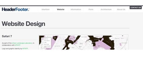Light & Clean Websites-headerfooter
