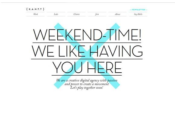 Light & Clean Websites-kantt