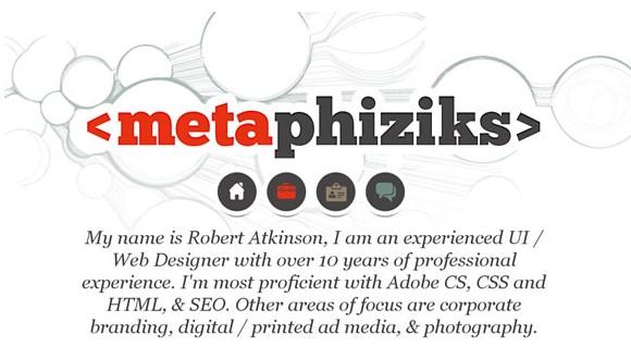 Light & Clean Websites-metaphiziks