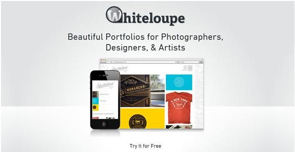 Light & Clean Websites-whiteloupe