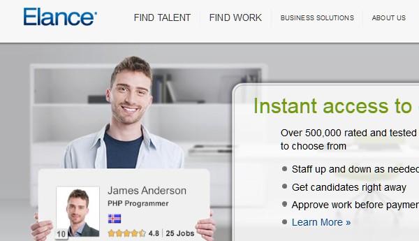 Sites Where Freelancers Can Find Work-elance