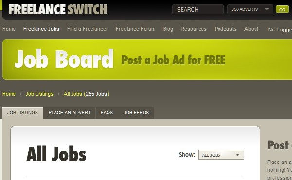 Sites Where Freelancers Can Find Work-freelanceswitch