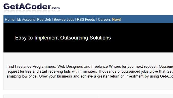 Sites Where Freelancers Can Find Work-getacoder