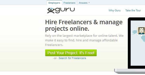 Sites Where Freelancers Can Find Work-guru