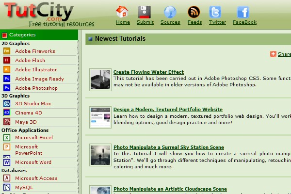 Sites to Submit Your Tutorials-tutcity