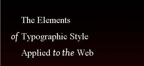 Typography eBooks-practicleguide