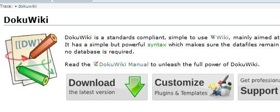 Wiki CMS-dokuwiki