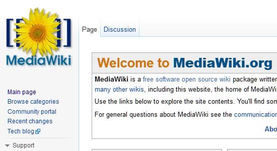 Wiki CMS-mediawiki