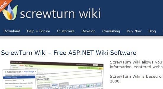 Wiki CMS-screwturnwiki