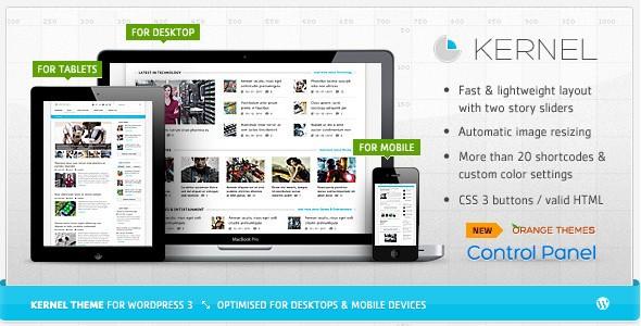 WordPress Magazine Themes-kernal