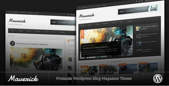 WordPress Magazine Themes-maverick