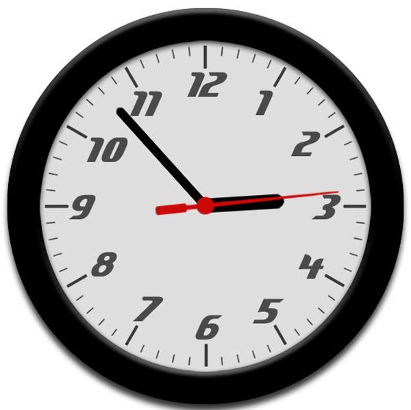 Analog-Clock-Demo-CSS3-anim