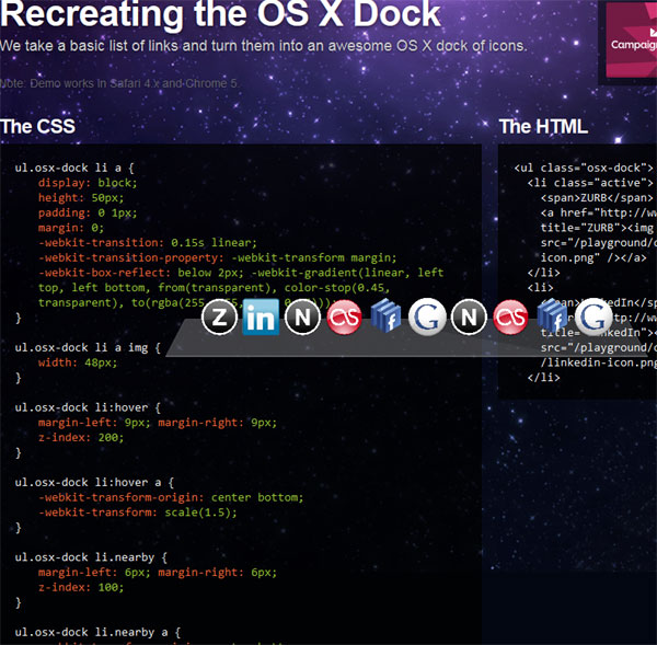 Recreating-the-OS-X-Dock---