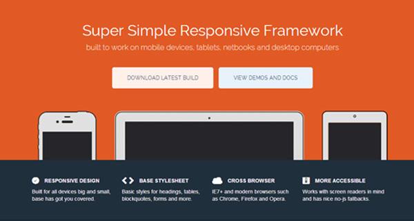 base responsive css framework