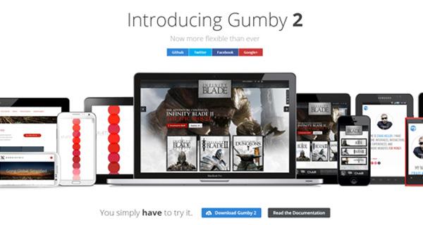 gumby responsive css framework