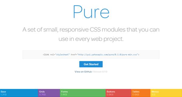 pure-css-framework