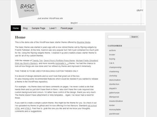 14 Brilliant WordPress Starter Themes - BestAgencies.com