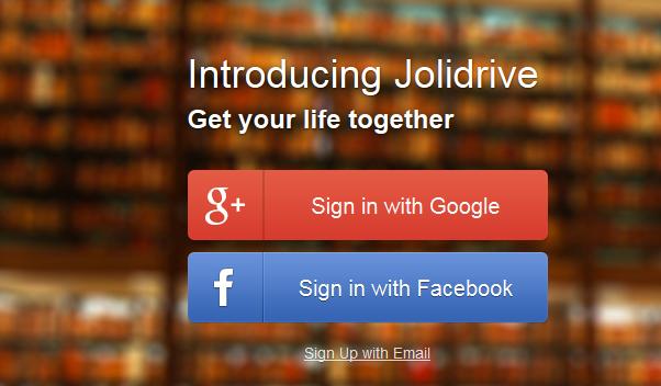 Jolicloud Jolidrive