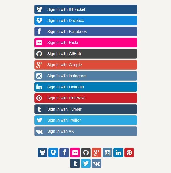 social-buttons-bootstrap