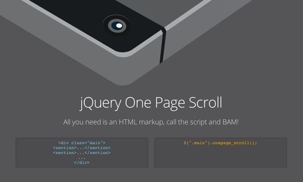 one-page-scroller