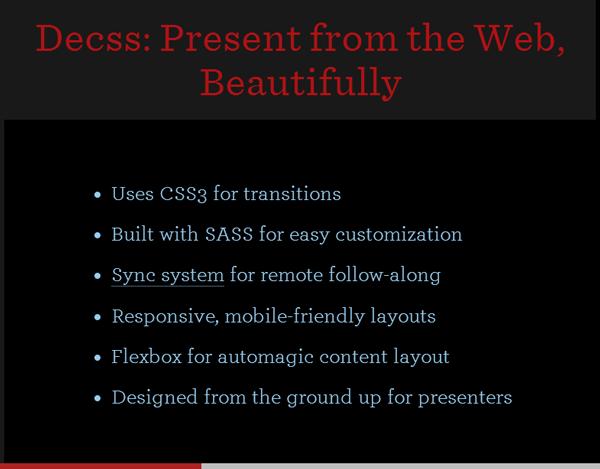 css-presetation-framework