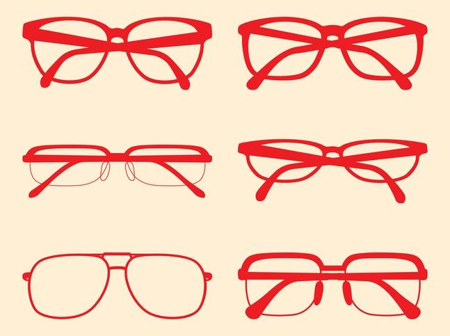 Glasses frames set